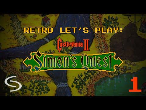 Retro Let's Play: Castlevania II — Simon' s Quest 1: Berkeley Mansion
