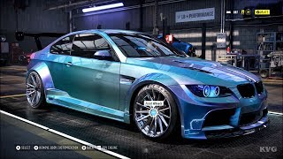 Need for Speed Heat - BMW M3 2010 - Customize | Tuning Car (PC HD) [1080p60FPS]