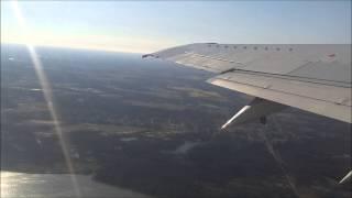 US Airways Boeing 737-400 take off at Philadelphia