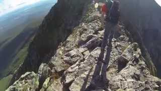 Mount Katahdin: Hunt trail to Knife