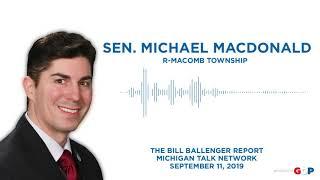 Sen. MacDonald joins The Ballenger Report