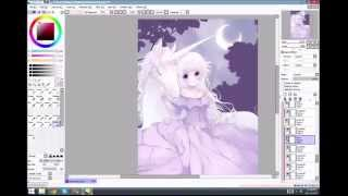The Last Unicorn - SpeedPaint