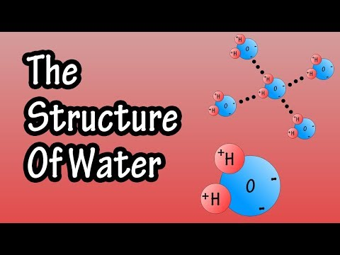 Structure Of Water Molecule - Chemistry Of Water - Properties Of Water - Composition Of Water