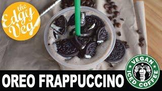 Starbucks Oreo Frappuccino Recipe Vegan | The Edgy Veg