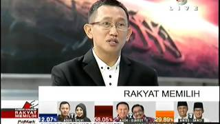 Ahok Menang Semua Quick Count di sesi awal Pilkada DKI Jakarta 2017