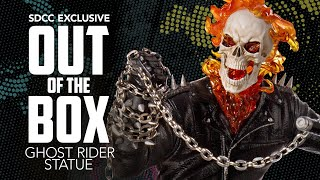 San Diego Comic-Con Exclusive - Ghost Rider Statue Full Unboxing!