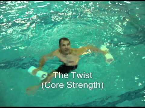 High Intensity Water Aerobics for Injured Runners (or Cross-Training or HIIT)