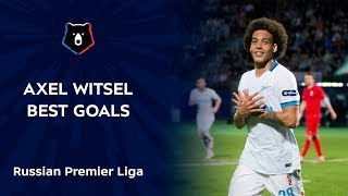 Axel Witsel Best goals in Russian Premier Liga Video