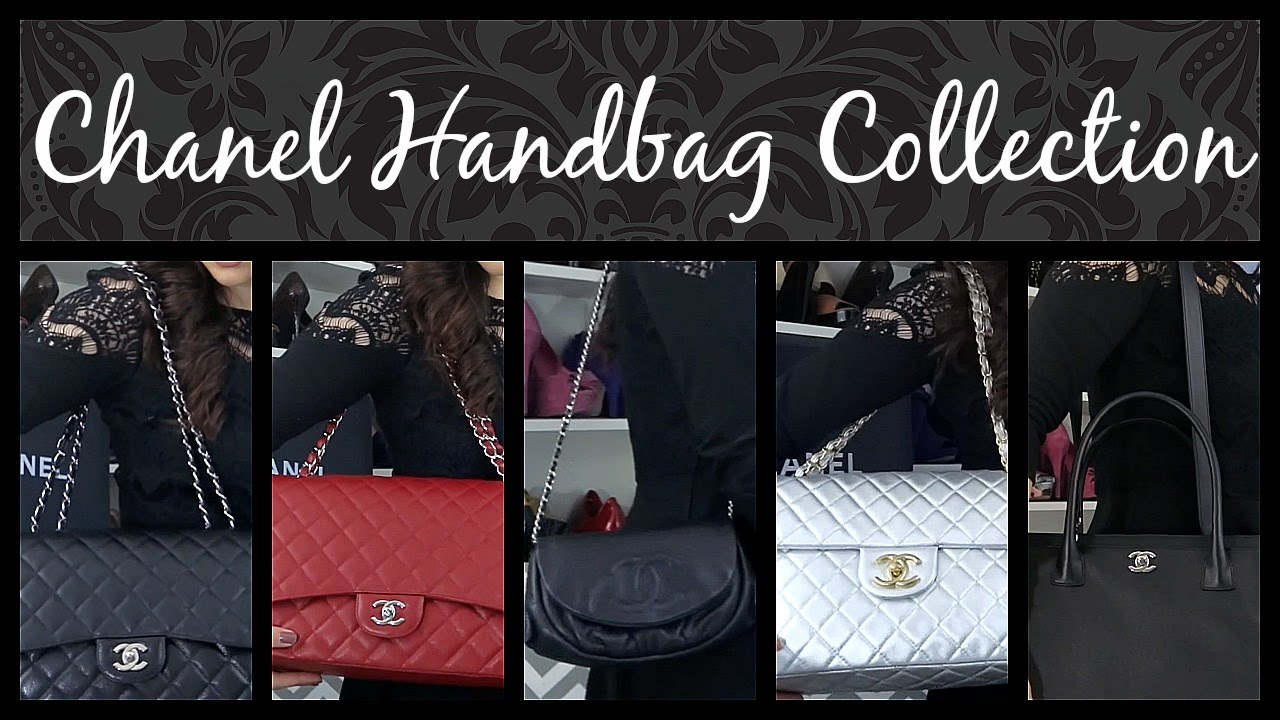b478af3f0ce9a0 My Chanel Handbag Collection and Reviews - YouTube