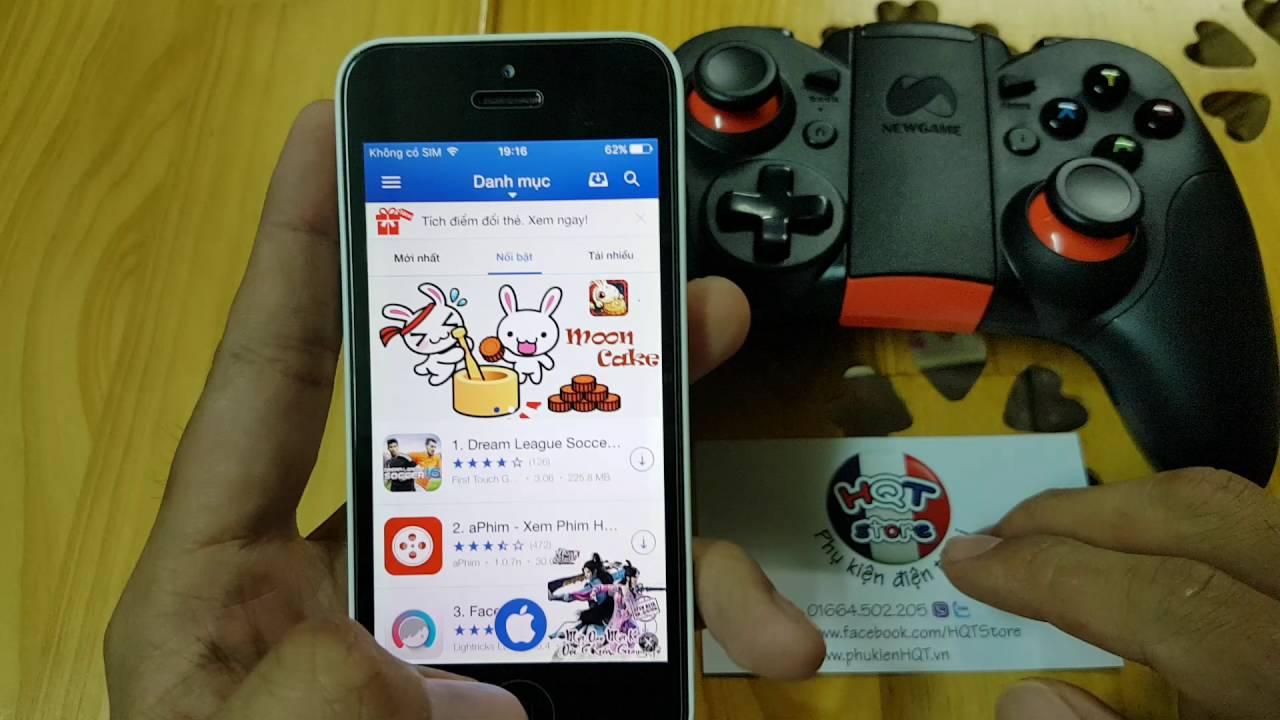 Hướng dẫn cài game cho Iphone chơi trên tay game Newgame N1 Pro – 0364502205