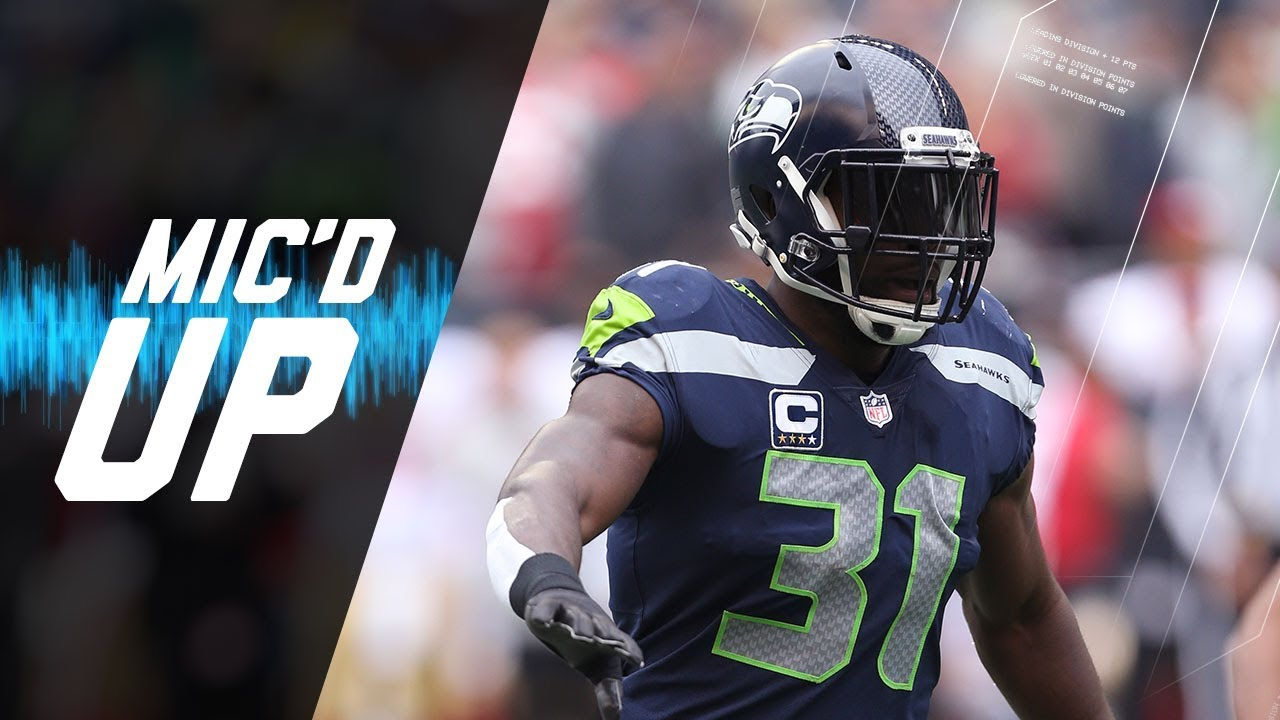 Kam Chancellor Mic d Up with the Legion of Boom vs 49ers