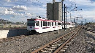 UTA HD 60fps: Siemens S70, SD-100, & SD-160 Light Rail Vehicles on The TRAX System (5/9/19)