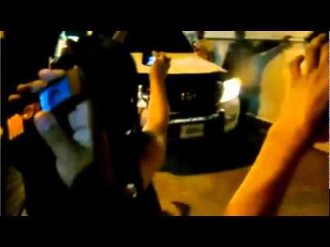 Daddy Yankee   Llegada a San Pedro Sula Honduras W105  W107 Radio