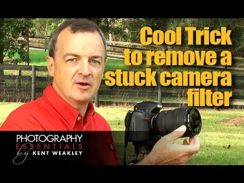 Cool Trick for Removing a Stuck Camera Filter From Lens