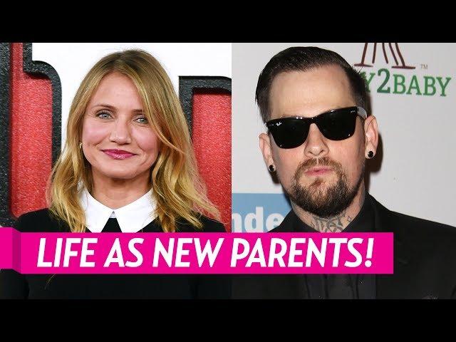 Cameron Diaz & Benji Madden\: New Baby Daughter Raddix & First Days Home