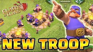 A Surprise Update NEW TROOP in Clash of Clans! WHAT IS IT? | CoC New Troop 2018 Christmas