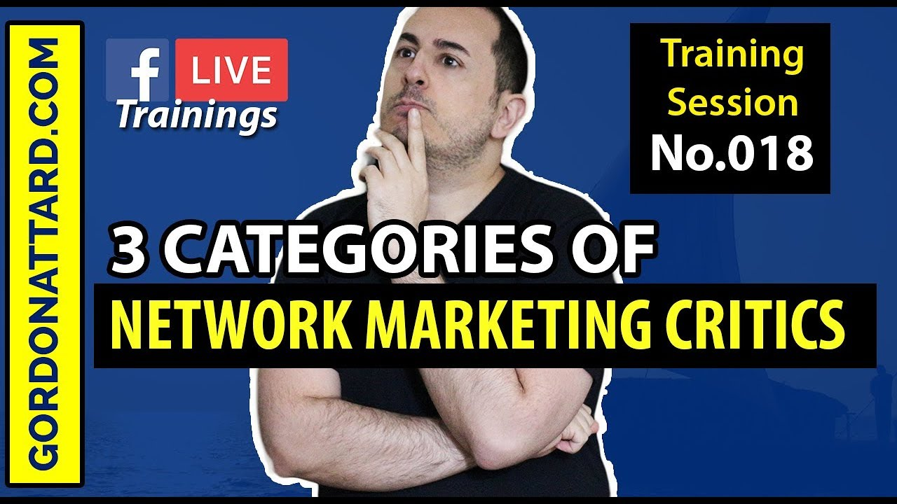3 Categories Of Network Marketing Critics
