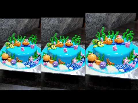 New Model FINDING NEMO Cake Models || #MATHYSCAKECORNER || #MATHYBAKERY.