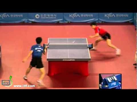 Ryu Seung Min vs Lee Sang Su[Korea Open 2011]