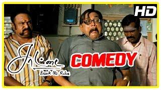 Saattai Tamil movie | Comedy Scenes | Samuthirakani | Thambi Ramaiah | Yuvan | Pandi | Mahima