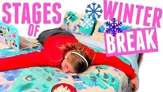 7 Stages of Winter Break!