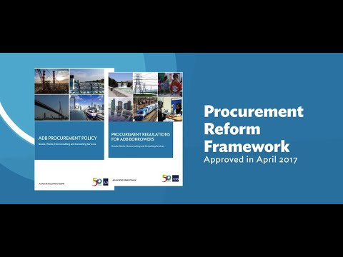 New ADB Policy Aims to Modernize Procurement