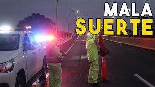 ACCIDENTE EN CARRETERA CON EL MINI COOPER    ALFREDO VALENZUELA