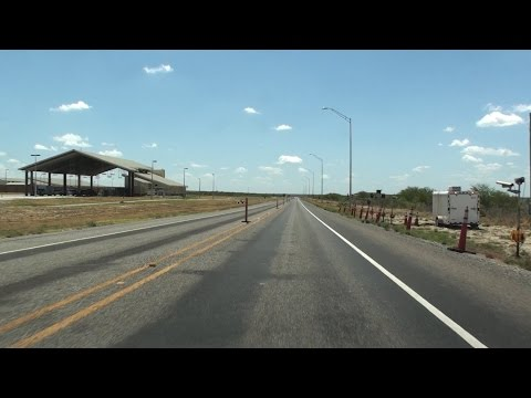 ROUTE 90 TEXAS, U.S. BORDER PATROL CHECKPOINT