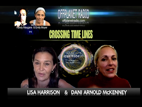 Lisa Harrison  & Dani Arnold McKenney: Crossing Time Lines