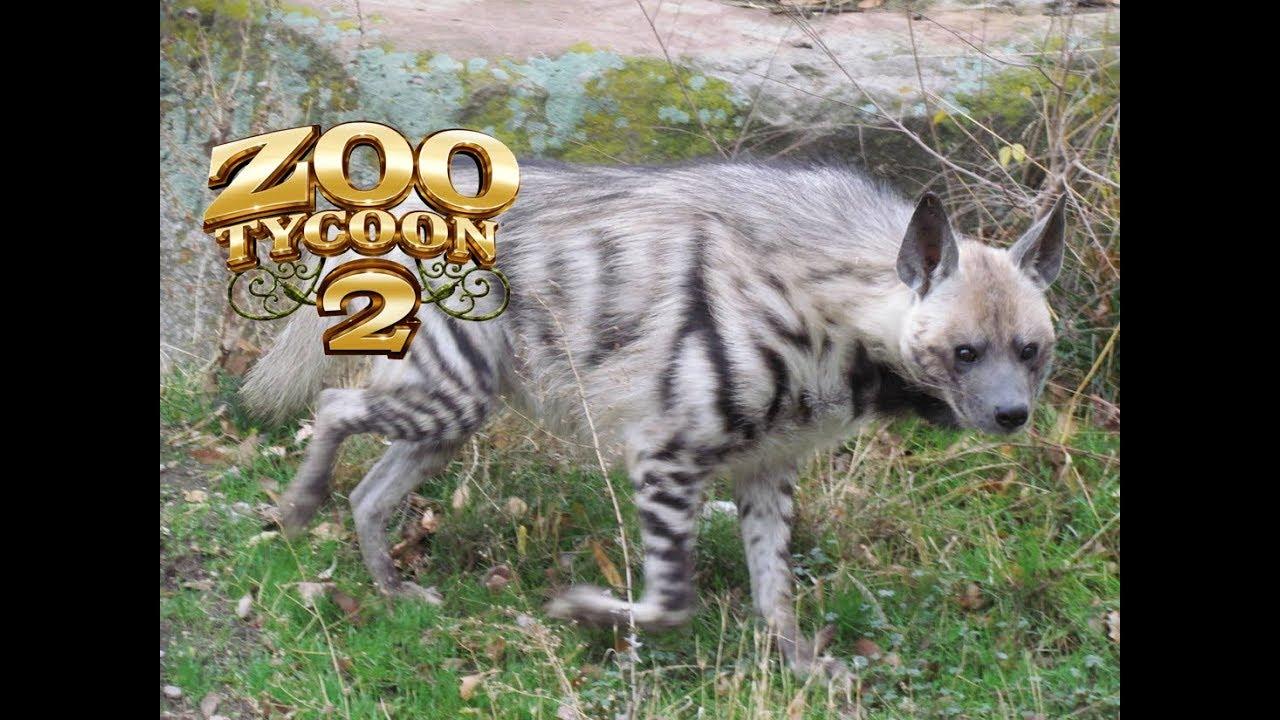 Zoo Tycoon 2 - Striped Hyena Exhibit!