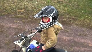 Dětská motorka - Saša 4 roky