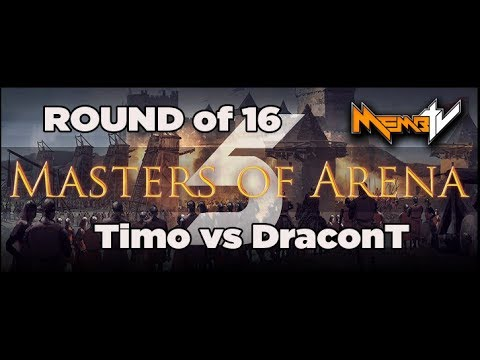 AoE2   MOA5 Timotheus vs DraconT Round of 16 (fixed video)