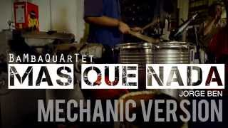 MAS QUE NADA by Bambaquartet