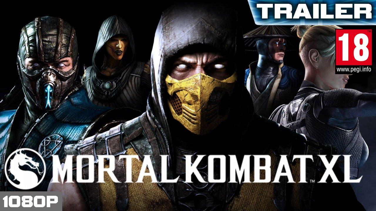 Mortal Kombat XL - Anouncment Trailer | PEGI 18 [XBOX ONE, PS4]