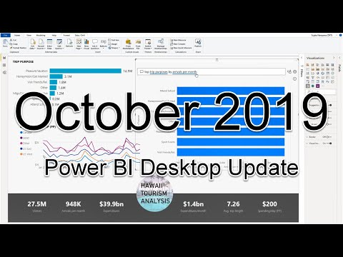 Power BI Desktop Update - October 2019
