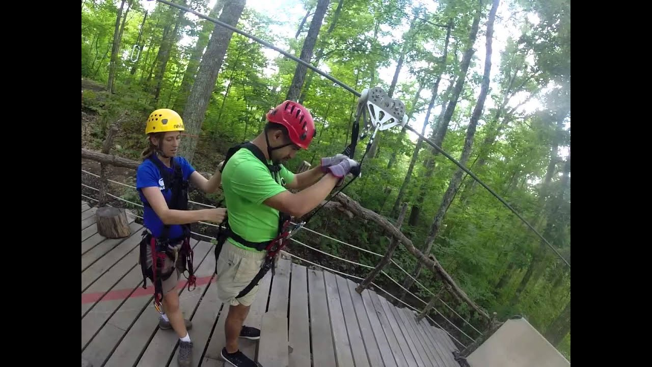 Navitat Zipline Canopy Adventures Asheville Bucket List 2015