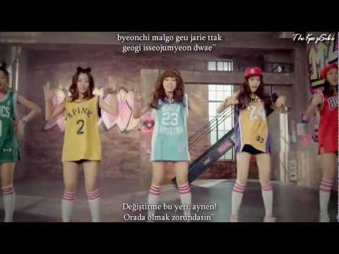 A PINK (에이핑크) - My My MV Turkish Sub & Romanization Lyrics
