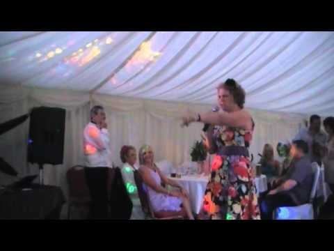 Bad Singer at Karaoke Wedding