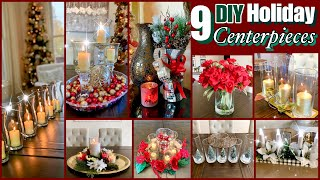 Holiday Centerpiece Dollar Tree DIYS