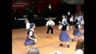 Thüringer Folklore Tanzensemble Rudolstadt-- Holzschuhtanz