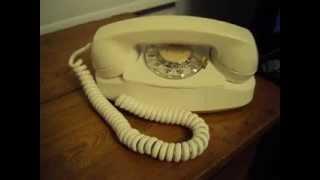 701B Princess White 1960 Western Electric Princess Telephone