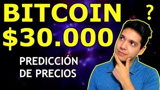 BITCOIN PRECIO PREDICCIÓN [U$S 30.000] EN CUANTO TIEMPO? - MERCADO DE CRIPTOMONEDAS - Criptomania