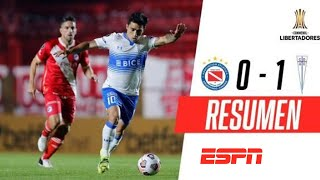 ¡TRIUNFAZO DE LA CATÓLICA EN LA PATERNAL! | Argentinos Jrs. 0-1 U. Católica | RESUMEN