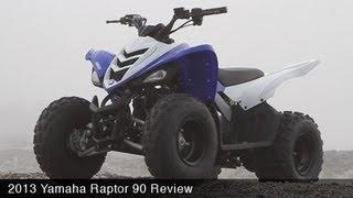 MotoUSA Kids ATV Shootout - 2013 Yamaha Raptor 90