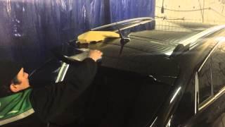 видео полировка кузова автомобиля в Москве ювао