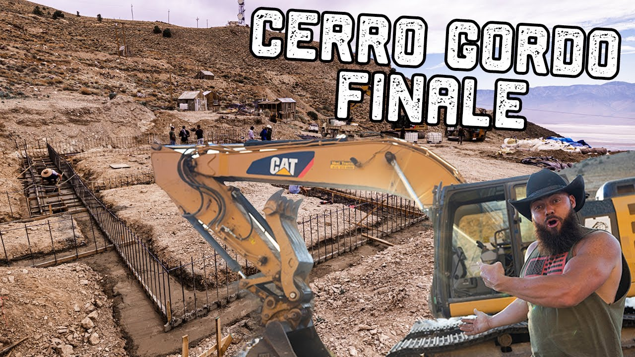 We Hauled Over 1 Million Pounds Up To This Mountain Ghost Town (Cerro Gordo Pt 4 FINALE)