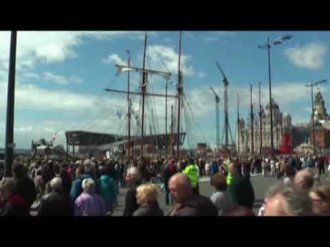Tall Ships in Liverpool 2008
