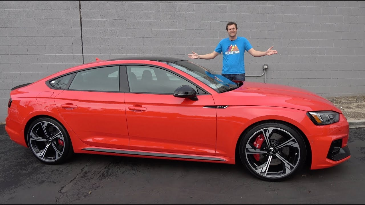 Here S Why The Audi Rs5 Sportback Is My Favorite New Audi Youtube