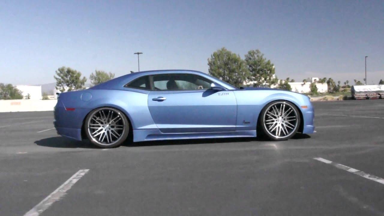 stance wheels evolution camaro ss youtube