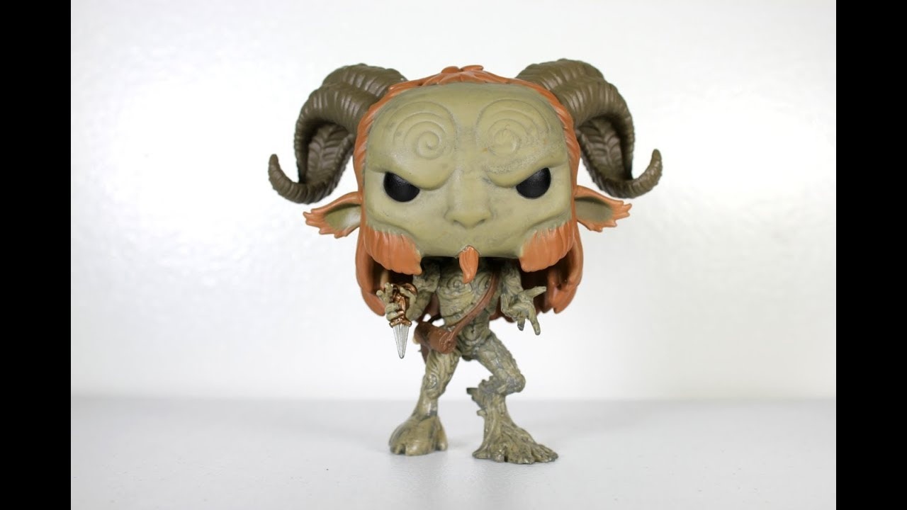 FUNKO POP New Toy Vinyl Figure Fauno HORROR: Pan/'s Labyrinth